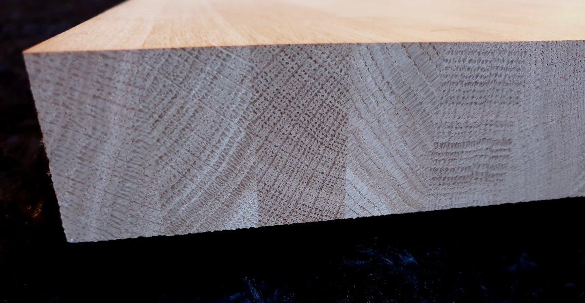 Stiķēta ozola mēbeļu plātne 40x620x3000mm BB
